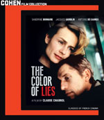 The Color of Lies Blu-Ray Cover