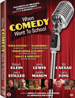 DVD Cover for When Comedy Went to School