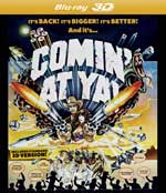 DVD Cover for Comin' at Ya!