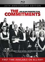 The Commitments 25th Anniversary Blu-Ray Cover