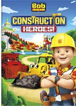 DVD Cover for Bob the Builder: Construction Heroes