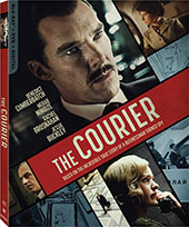 The Courier Blu-Ray Cover
