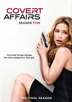 DVD Cover for Covert Affairs Season Five