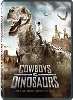 DVD Cover for Cowboys vs. Dinosaurs
