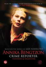 DVD Cover for Annika Bengtzon Crimer Reporter Episodes 7 & 8
