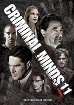 DVD Cover for Criminal Minds: The Eleventh Season