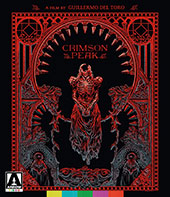 Crimson Peak Blu-Ray Cover
