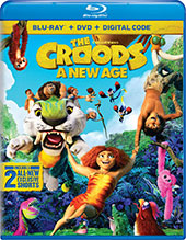 The Croods: A New Age Blu-Ray Cover