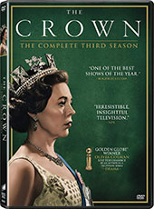 The Crown: The Complete Third Season DVD Cover