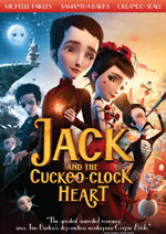 DVD Cover for Jack and the Cuckoo-Clock Heart