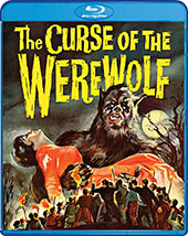 The Curse of the Werewolf Blu-Ray Cover