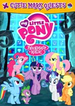 DVD Cover for My Little Pony - Friendship is Magic: Cutie Marks Quests