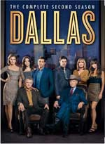 Dallas: The Complete Second Season DVD Cover