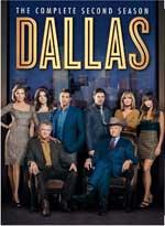Dallas: The Complete Second Season DVD Cover