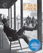 My Darling Clementine Criterion Collection Blu-Ray Cover