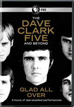 DVD Cover for The Dave Clark Five and Beyond: Glad All Over