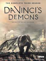DVD Cover for Da Vinci's Demons: The Complete Third Season