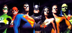 The DC lineup - can they prove as appealing as Marvel's heroes?
