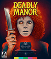 Deadly Manor Blu-Ray Cover