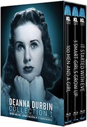 Deanna Durbin Collection Blu-Ray Cover