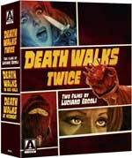 DVD Cover for Death Walks Twice: Two Films by Luciano Ercoli