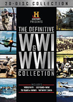 DVD Cover for The Definitive WWi & WWII Collection