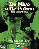 De Palma & De Niro: The Early Films Blu-Ray Cover