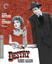 Destry Rides Again Criterion Collecion Blu-Ray Cover