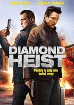 DVD Cover for The Diamond Heist