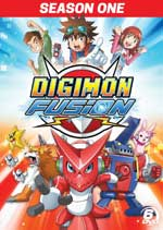 DVD Cover for Digimon Fusion