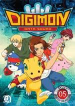 DVD Cover for Digimon Data Squad Season 5