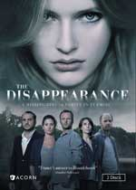 DVD Cover for The Disappearance