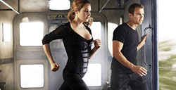 Shailene Woodley and Theo James as Tris and Four in the blockbuster YA adaptation Divergent