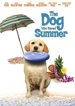 DVD Cover for The Dog Who Saved Summer