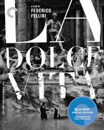 The Criterion Collection Blu-Ray Cover for La dolce vita
