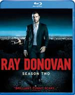 Ray Donovan: Season Two Blu-Ray Cover