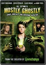 DVD Cover for R. L. Stine's Mostly Ghostly: One Night in Doom House