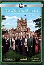 Downton Abbey Season 4 DVD Cover