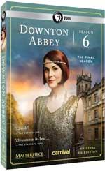 DVD Cover for Downton Abbey: Season 6