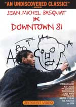 DVD Cover for Downtown 81