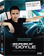 DVD Cover for The Republic of Doyle, Season 1