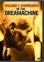 DVD Cover for William S. Burroughs in the Dreamachine
