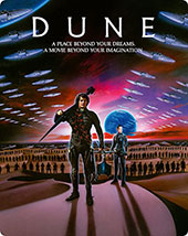 Dune Limited Edition Blu-Ray Cover