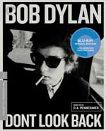 Criterion Collection Blu-Ray Cover for Don't Look Back