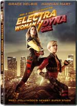 DVD Cover for Electra Woman & Dyna Girl