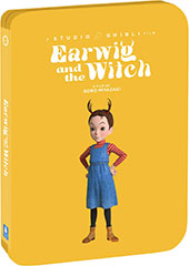 Earwig and the Witch Blu-Ray Cover