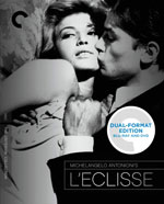 Blu-Ray Cover for the Criterion Collection L'Eclisse