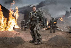 Tom Cruise has a serious case of deja vu in the top sci-fi film of 2014, Edge of Tomorrow