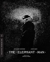 The Elephant Man Criterion Collection Blu-Ray Cover