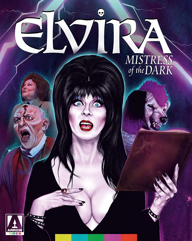 Elvira: Mistress of the Dark Blu-Ray Cover